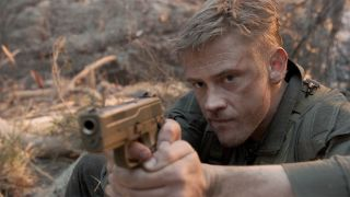An image of Boyd Holbrook in The Predator