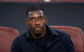 Barcelona forward Ousmane Dembele