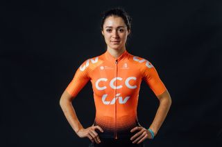 Italy's Sofia Bertizzolo will ride for CCC-Liv after contract issues stopped her joining Movistar