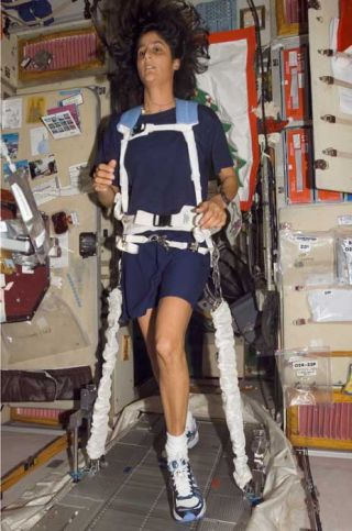 Space Station Astronaut Ready for Boston Marathon