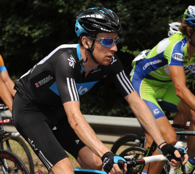 Bradley Wiggins, Tour de France 2010, stage 13