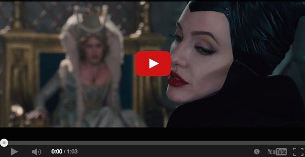 Maleficent Clip Has Angelina Jolie Pouting Smiling And