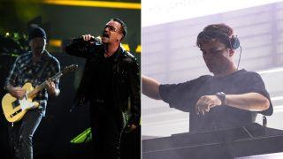 The Edge, Bono and Martin Garrix