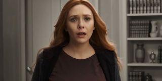Elizabeth Olsen as Wanda Maximoff in WandaVision (2020)