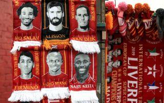 Liverpool, Salah, Alisson, Mané, Firmino, Van Dijk, Keita