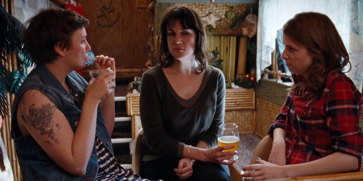 Anna Kendrick, Melanie Lynskey, and Lena Dunham in Happy Christmas