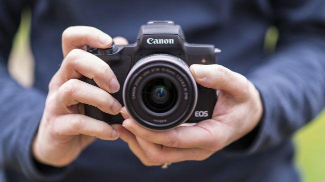 Best mirrorless camera: Canon EOS M50