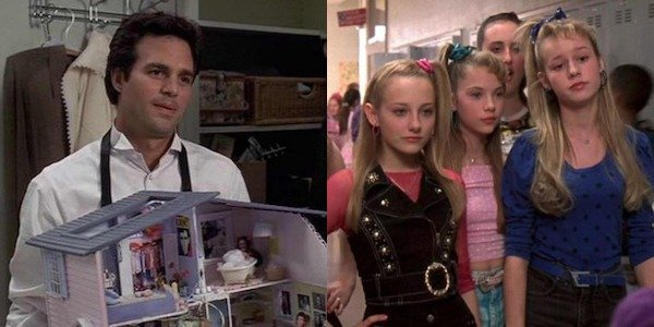 Mark Ruffalo and Brie Larson in 13 Going on 30