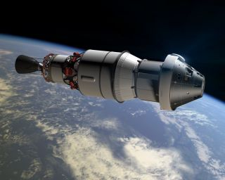First Test Flight of NASA's Orion Capsule