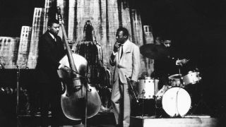 Paul Chambers and Miles Davis