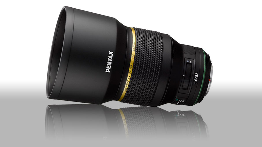 This is what the new Pentax 85mm f/1.4 lens looks like