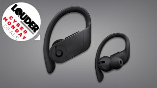 Bag up to 28% off a pair of all-black Beats Powerbeats Pro wireless earphones at Amazon for Cyber Monday