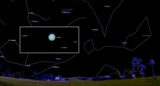 Uranus Shines at Its Brightest Tonight: Here's How to See It