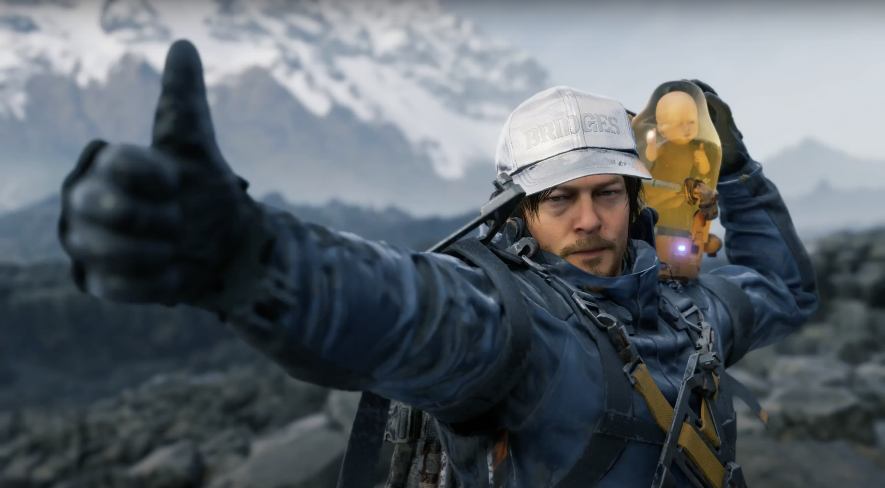 Quiet co-operation with other players makes Death Stranding special