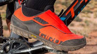 Giro mountain bike shoes