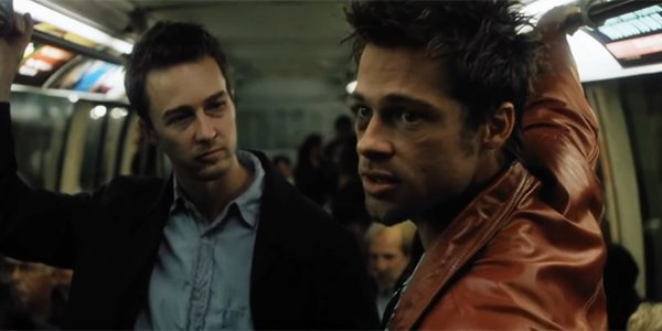 Brad Pitt And Edward Norton Talk Fight Club Getting Booed In Early ...