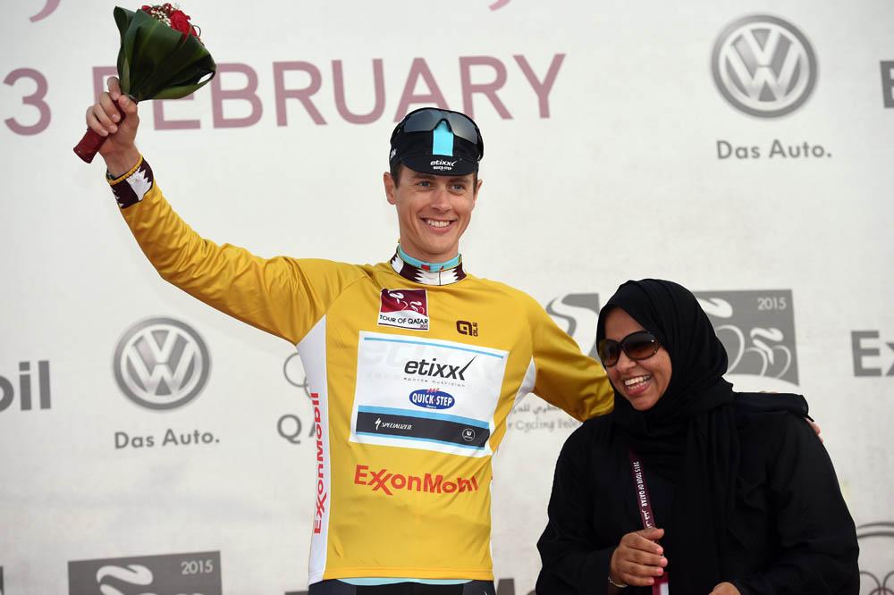 Bradley Wiggins third in Tour of Qatar time trial ...