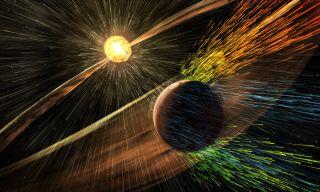 Mars losing atmosphere art
