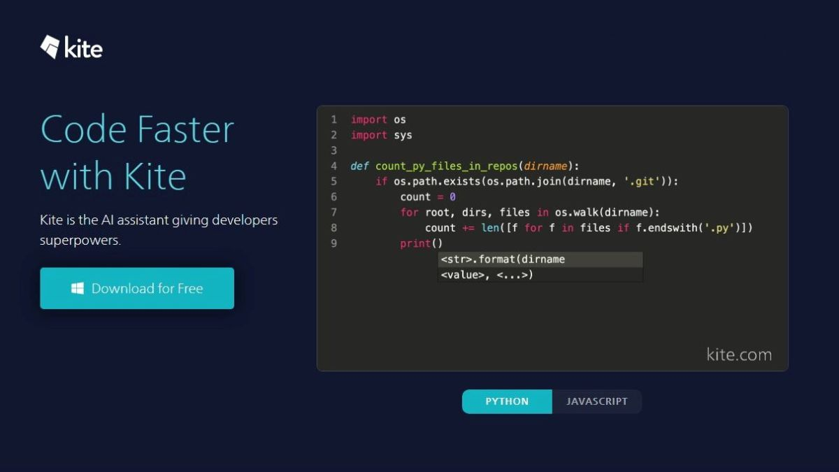 This free AI code-completion tool now works with JavaScript as well as Python
