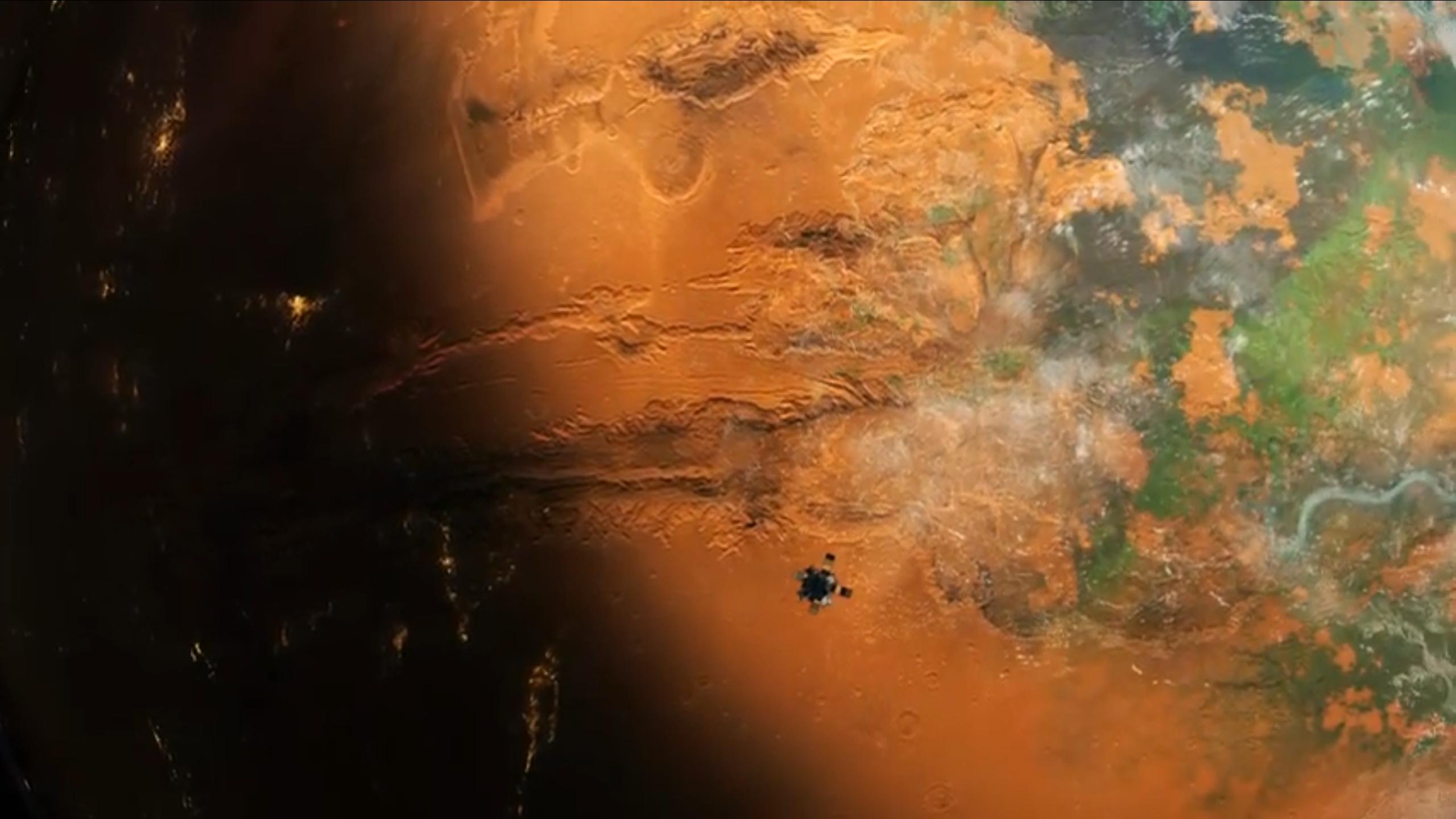 Be an AI and terraform Mars next month in Per Aspera
