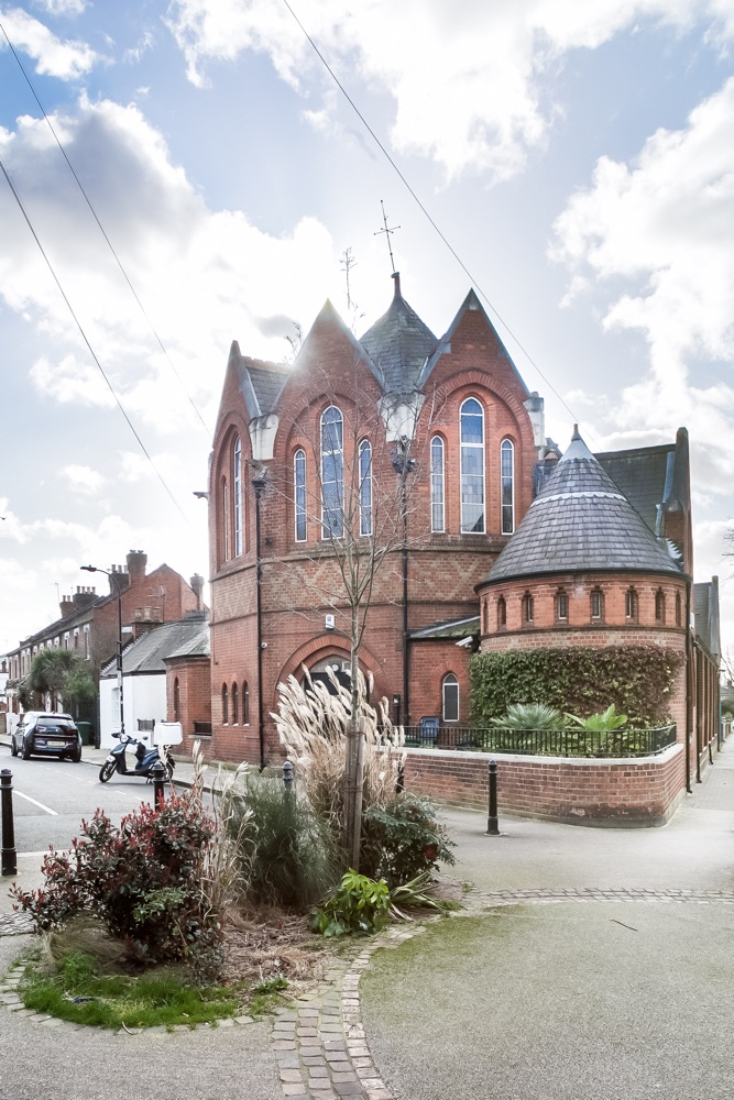 Explore a converted church in Kensal Green with spectacular interiors