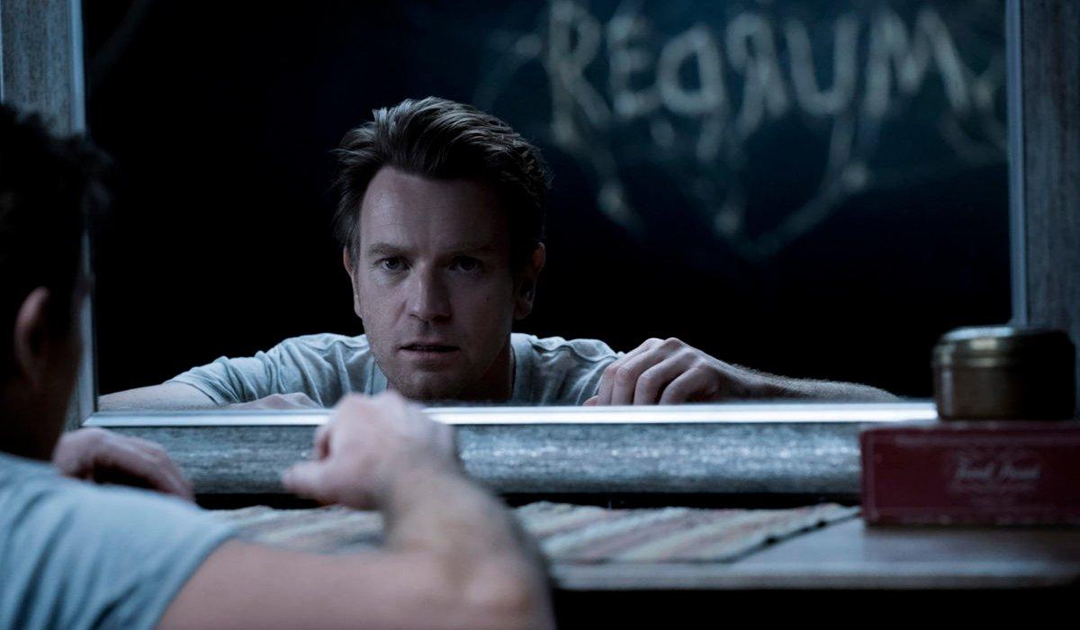 Doctor Sleep Ewan McGregor sees an infamous word in the mirror