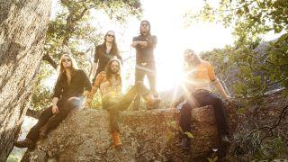 Group photo of rock band Scorpion Child