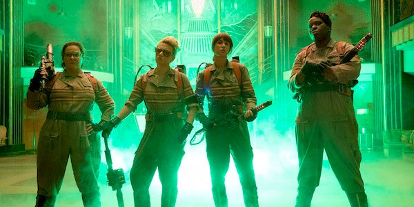 The new Ghostbusters team