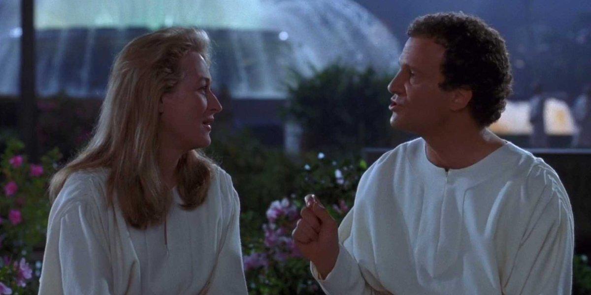 Meryl Streep and Albert Brooks in Defending Your Life