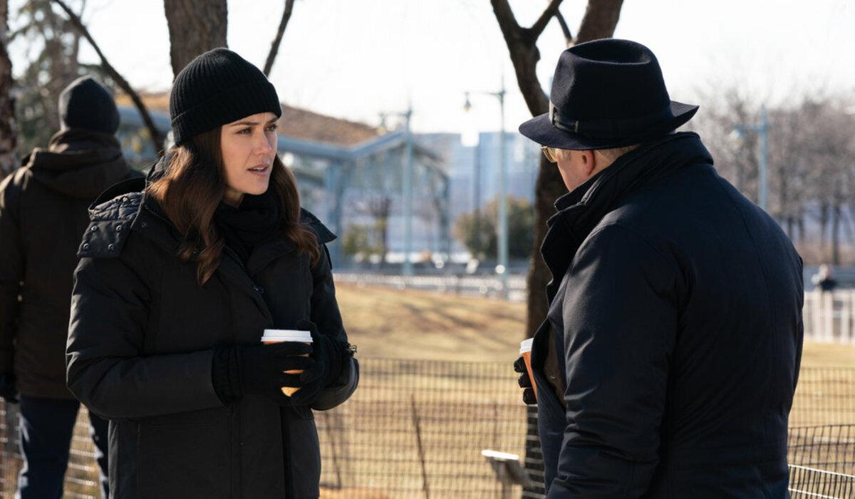 The Blacklist Megan Boone Elizabeth Liz Keen James Spader Raymond Red Reddington NBC