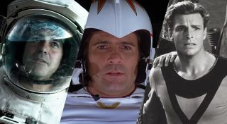 Is George Clooney taking the role previously played by both Gil Gerard and Buster Crabbe?