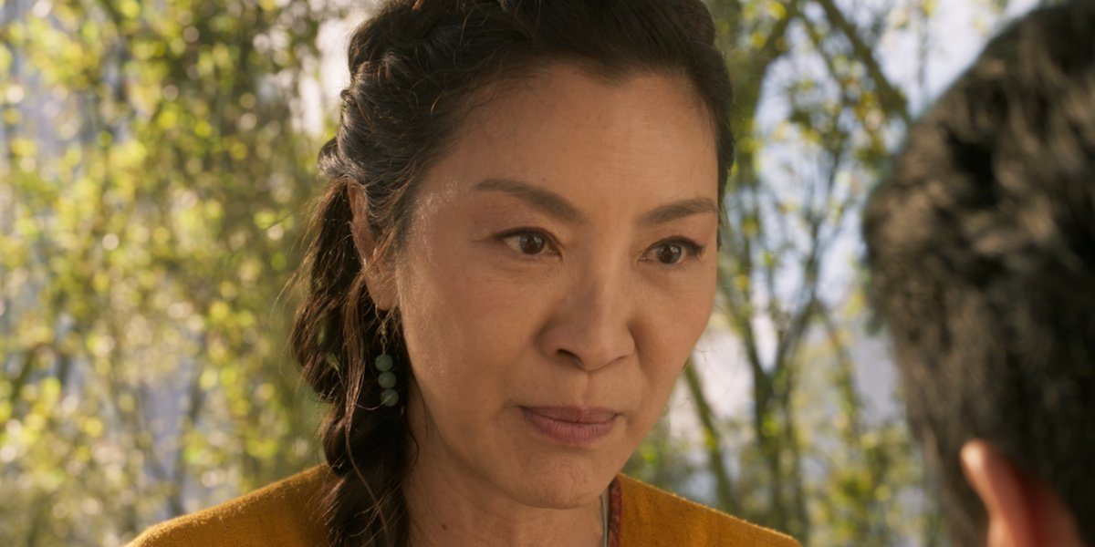 Michelle Yeoh as Ying Nan in Shang-Chi and the Legend of the Ten Rings