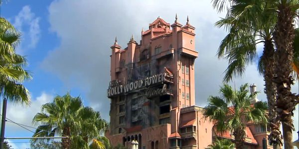 Twillight Zone Tower of Terror at Disney's Hollywood Studios