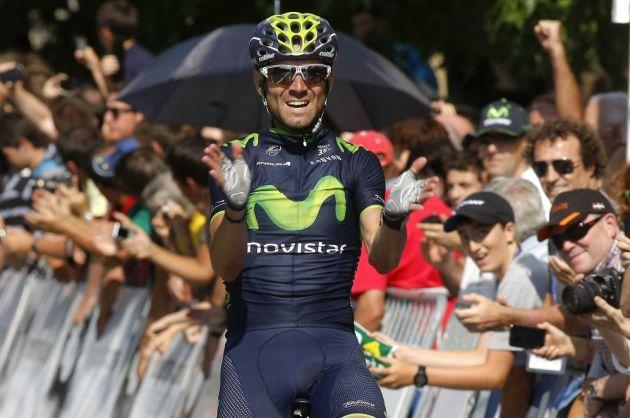 Alejandro Valverde wins the 2014 Clasica San Sebastian