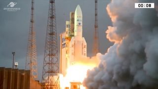 Ariane 5 Launches on April 5, 2018