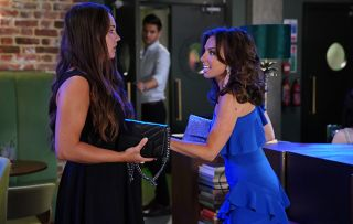Ruby Allen (Louisa Lytton) ditches Stacey for a man in the club
