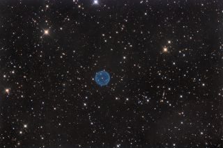 Abell 39 Planetary Nebula by Bob Franke