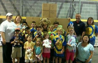 VMP Collects Teddy Bears for Children Affected by Tornadoes