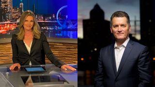 Marni Hughes andJoe Donlon will anchor WGN America's new primetime newscast.
