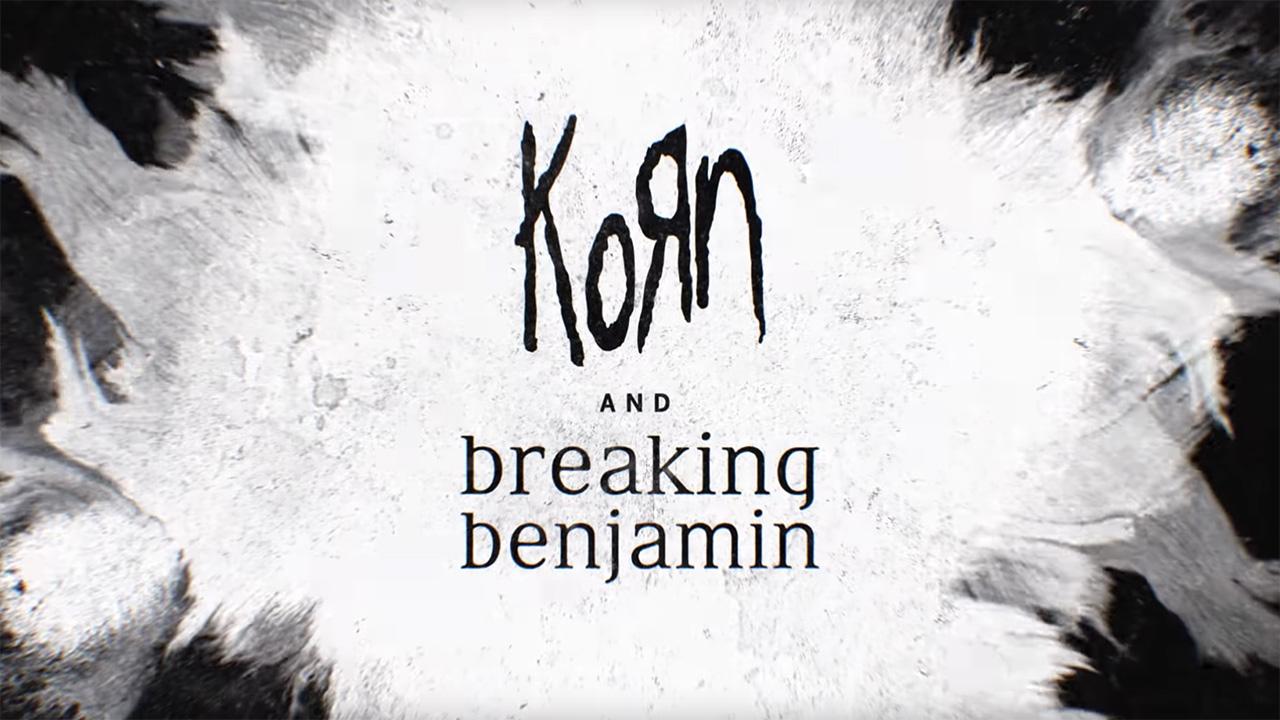 Breaking Benjamin New Album 2020.Korn And Breaking Benjamin Announce Joint 2020 Tour Louder
