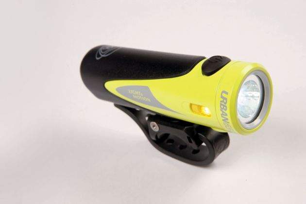Light and Motion Urban 650 comes highly recommended as a light weight, tool free bike light for just under £100