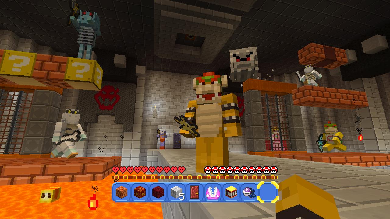 Minecraft Wii U Gets Rad Super Mario MashUp Pack For Free GamesRadar - Skins para minecraft wii u