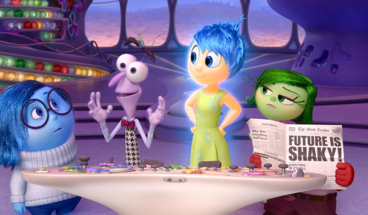 Emotions of Inside Out