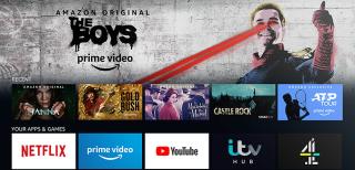 Amazon Prime Video home