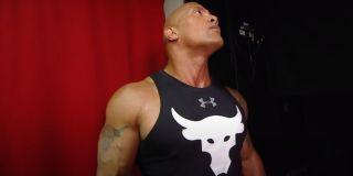 The Rock in WWE