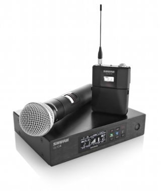Shure Announces QLX-D 900 MHz Digital Wireless Systems