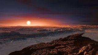 Proxima Centauri impression