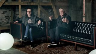 Rush's Geddy Lee and Alex Lifeson