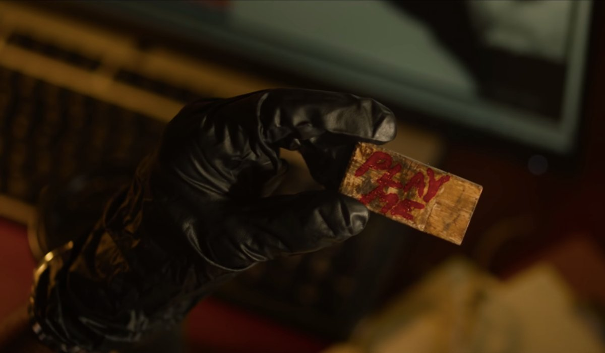 A random flash drive from evidence in Spiral: From the Book of Saw.