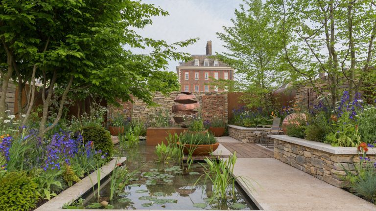landscaping ideas: The Silent Pool Gin Garden. Designed by: David Neale